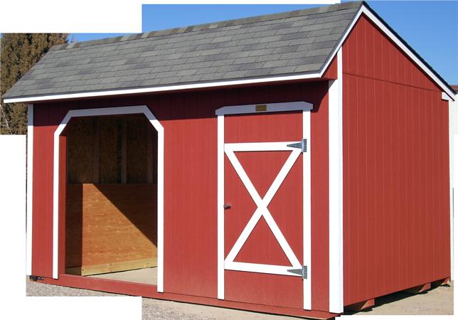 Customizable Storage Sheds and Barns - The Barnyard