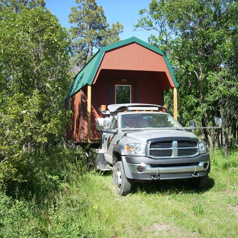 Move Portable Buildings Moving Mini Barns In Four Corners