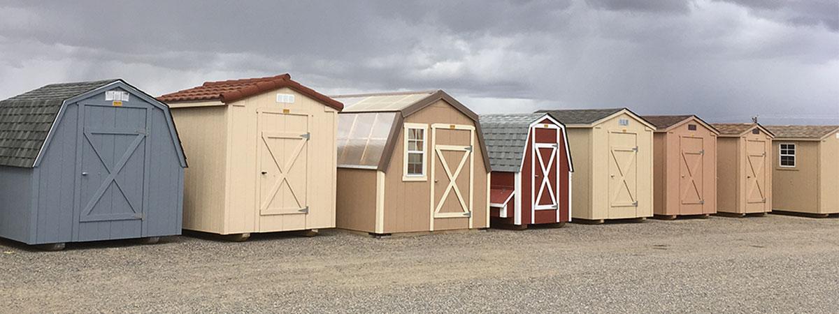 custom barns sheds