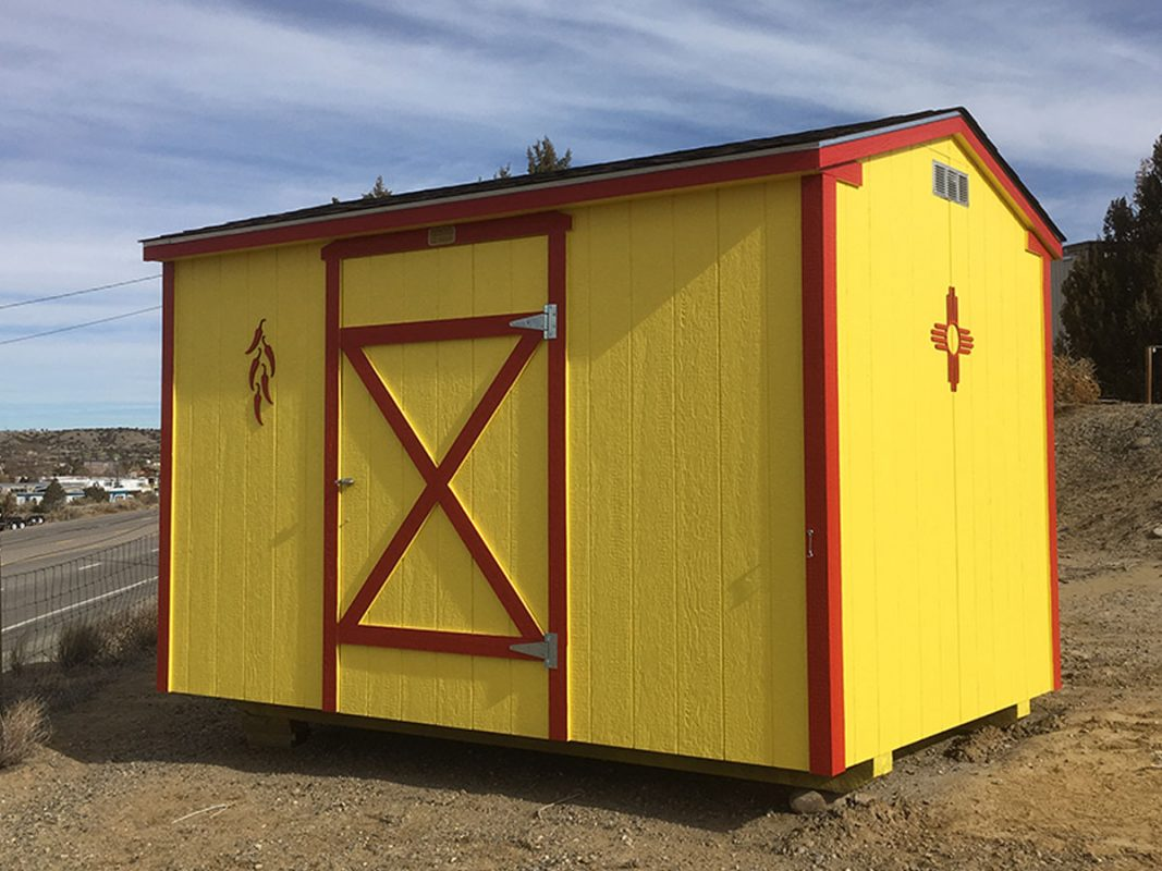 New Mexico ranch shed