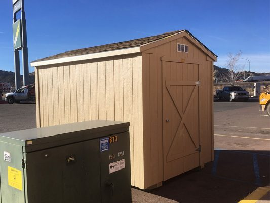 ranch storage shed