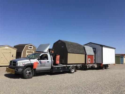 shed hauler trailer