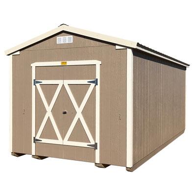 10x20 ranch storage building profile