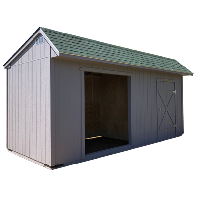 saltbox horse barn profile