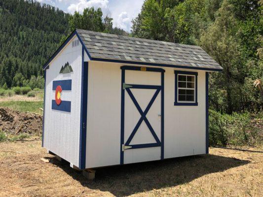 Colorado Shed 8x12 Saltbox