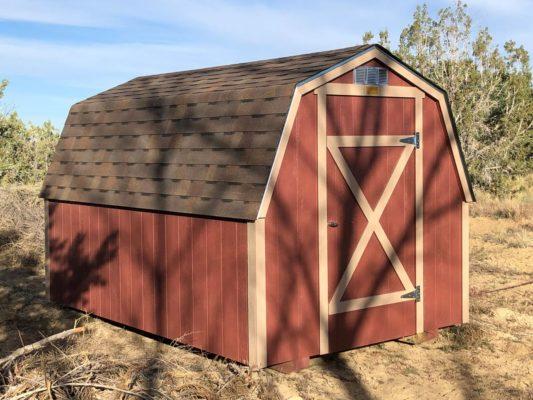 Red 8x12 Barn