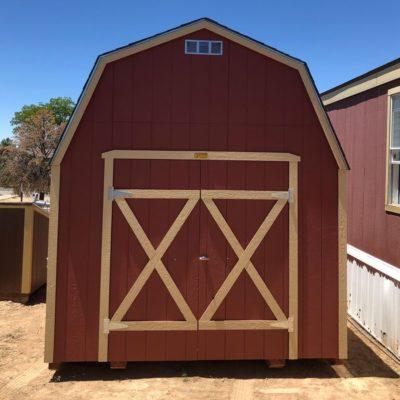10x14 Lofted Barn